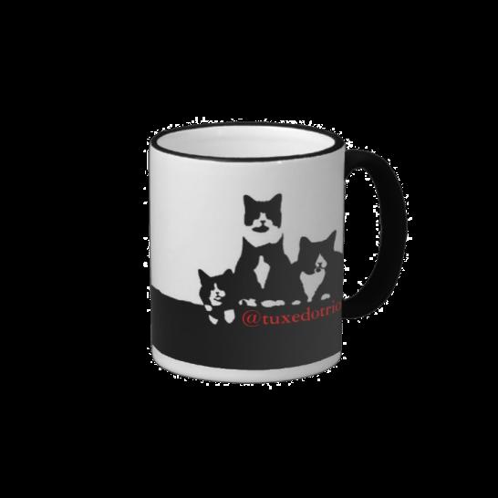 TuxedoTrio coffee mug